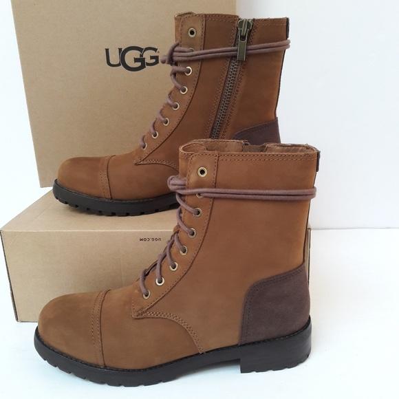 New Womens UGG Chestnut combat boots. Women s 9.5 751c7d9b17